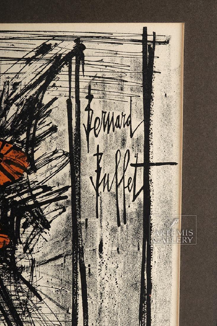 Bernard Buffet Original Lithograph - Flowers, 1968 - 3
