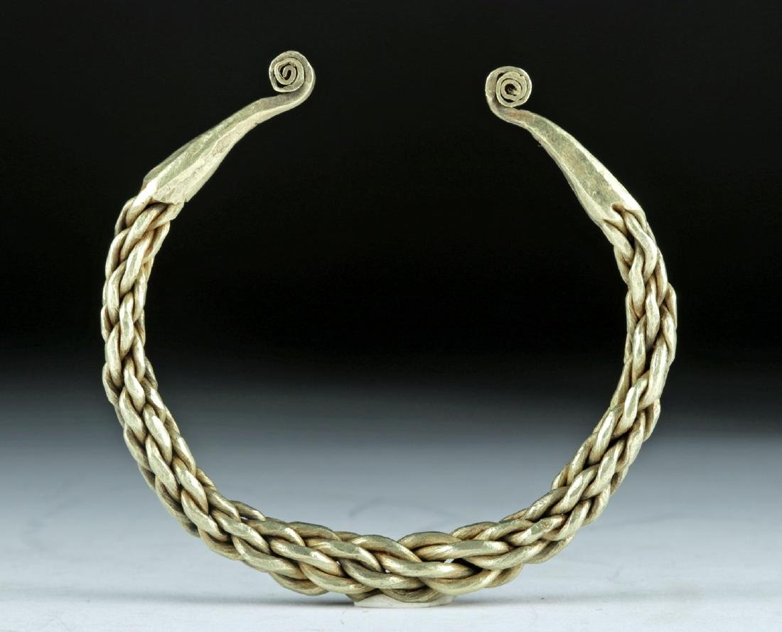 Gorgeous Viking Twisted 14K+ Gold Bracelet - 82.1 g