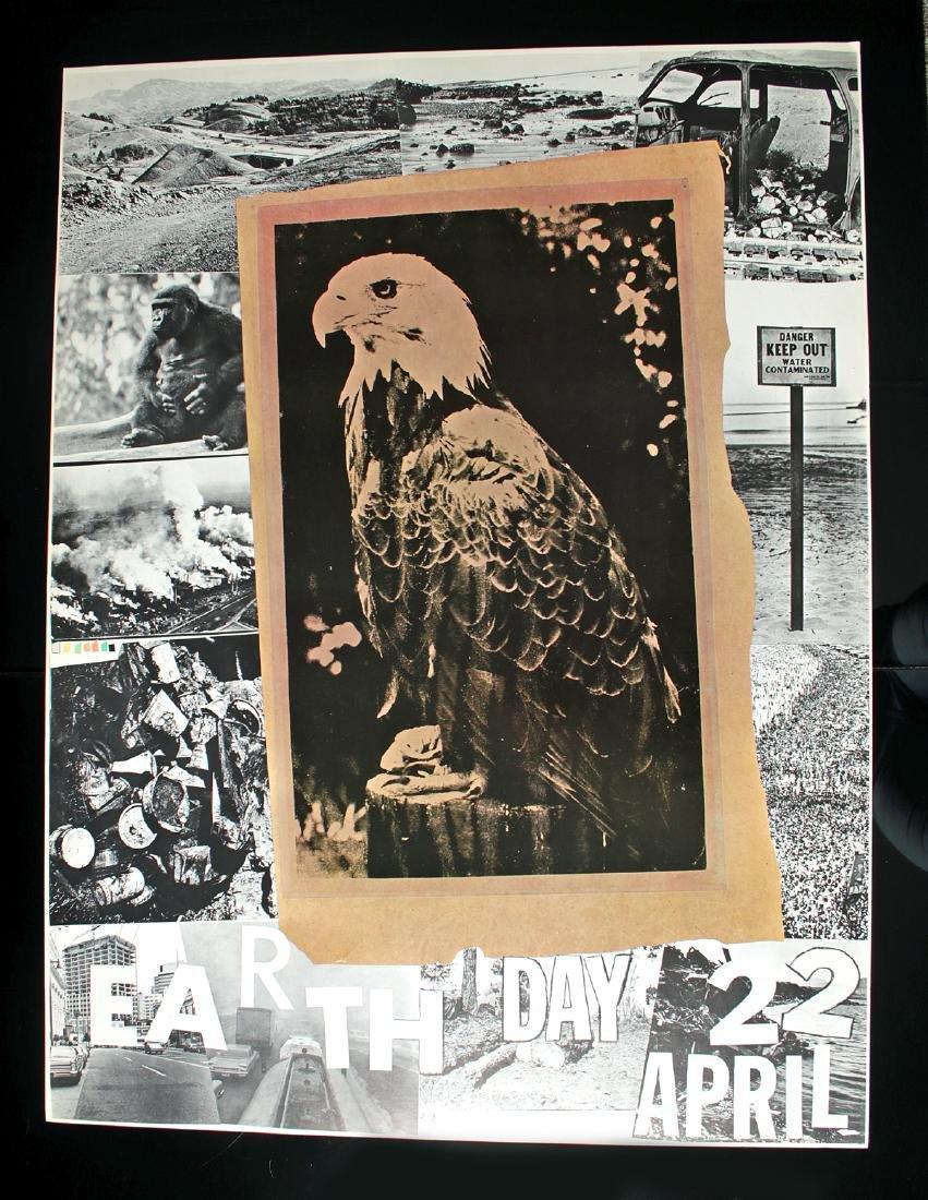 Robert Rauschenberg Offset Lithograph - Earth Day, 1970