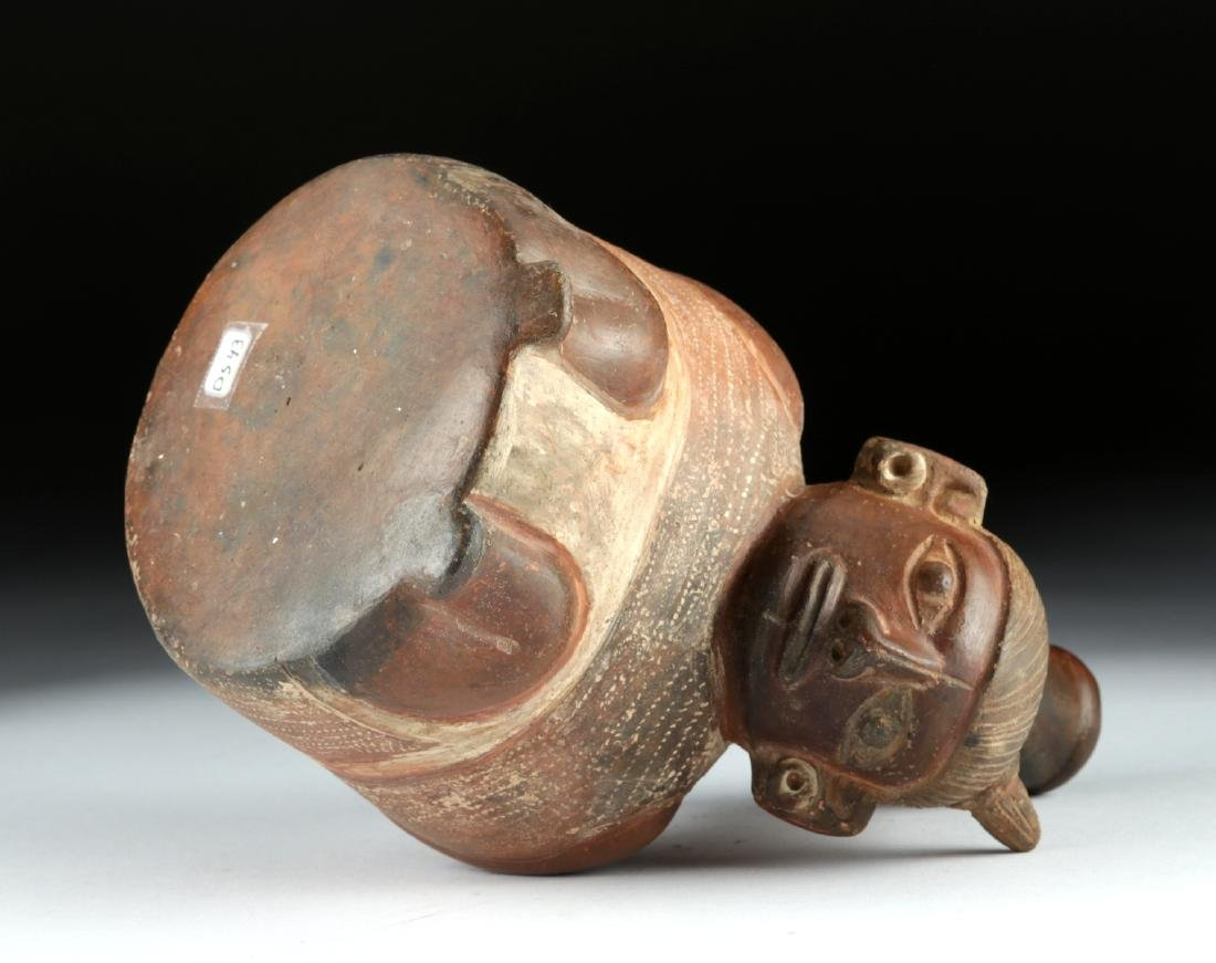 Chavin Pottery Figural Stirrup Vessel - Prisoner - 5