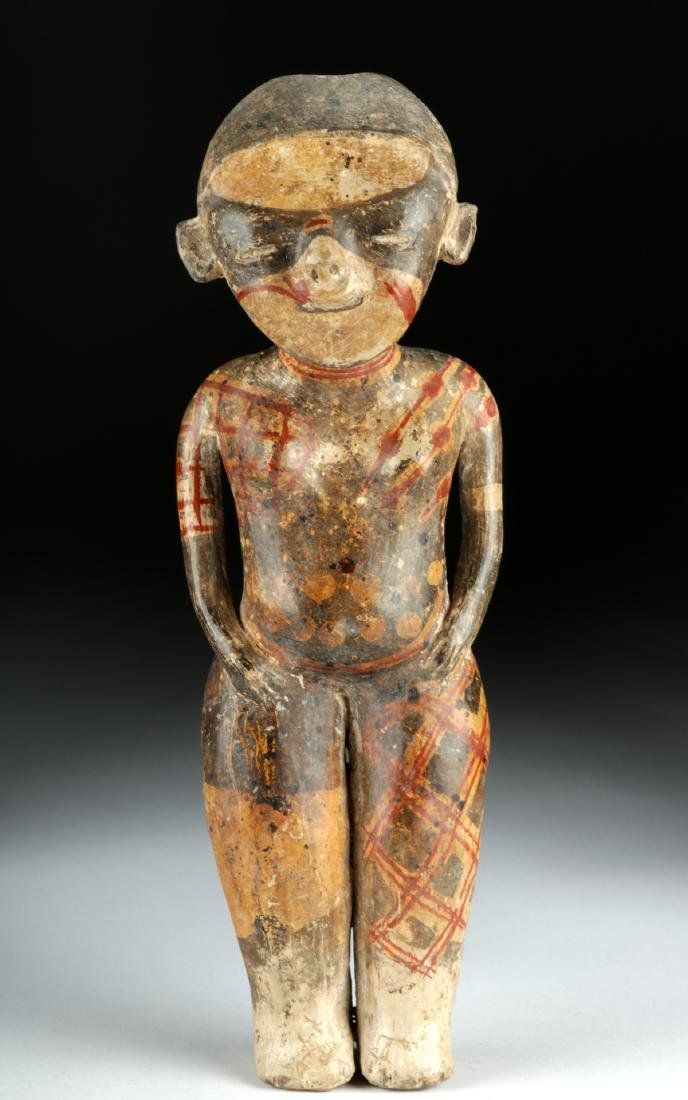 "Nayarit ""Chinesco"" Polychrome Woman - ex-Sotheby's - 2"