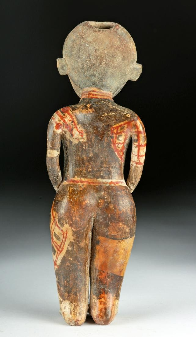 "Nayarit ""Chinesco"" Polychrome Woman - ex-Sotheby's - 4"