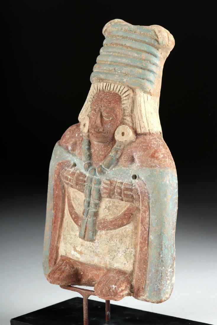 Maya Jaina Ceramic Effigy Whistle of an Elite - 2