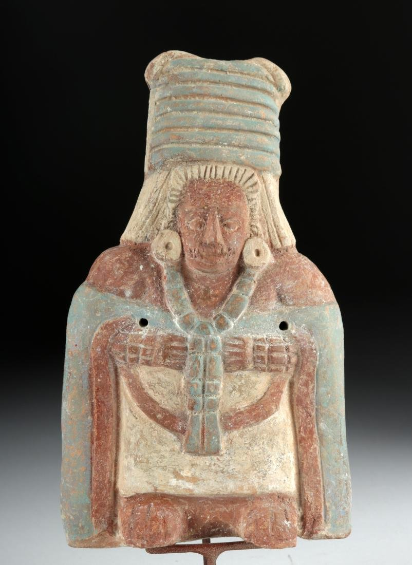 Maya Jaina Ceramic Effigy Whistle of an Elite - 6