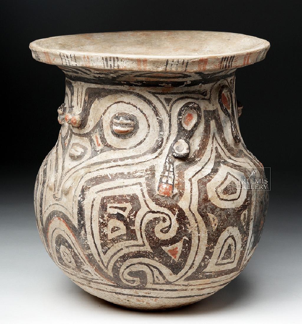 Marajoara Ceramic Vessel - Woman / Owl Figures -TL Test - 3