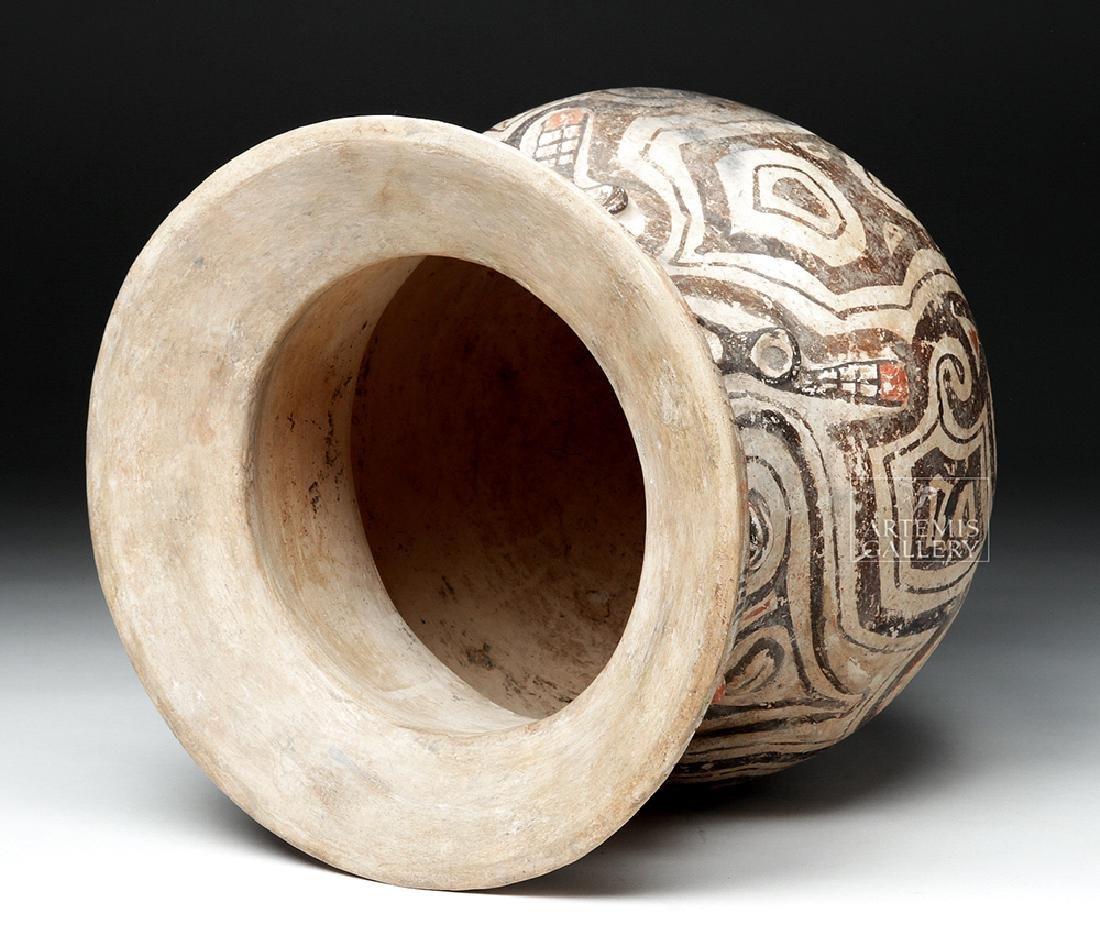Marajoara Ceramic Vessel - Woman / Owl Figures -TL Test - 6