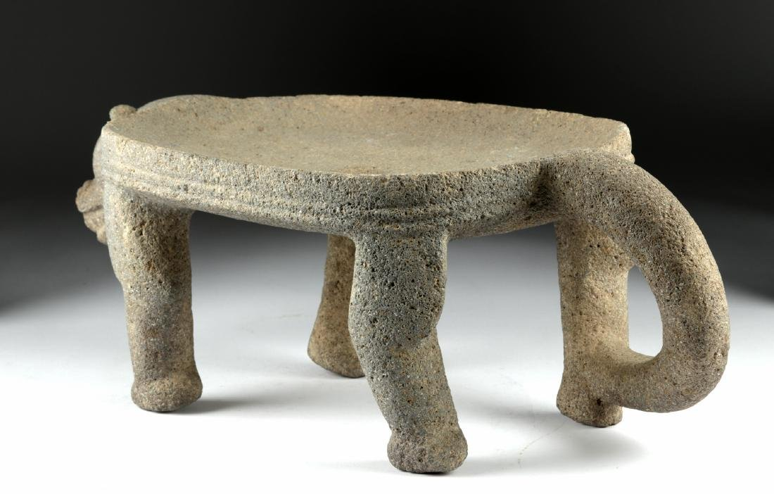 Chiriqui Large Stone Jaguar Metate - 5