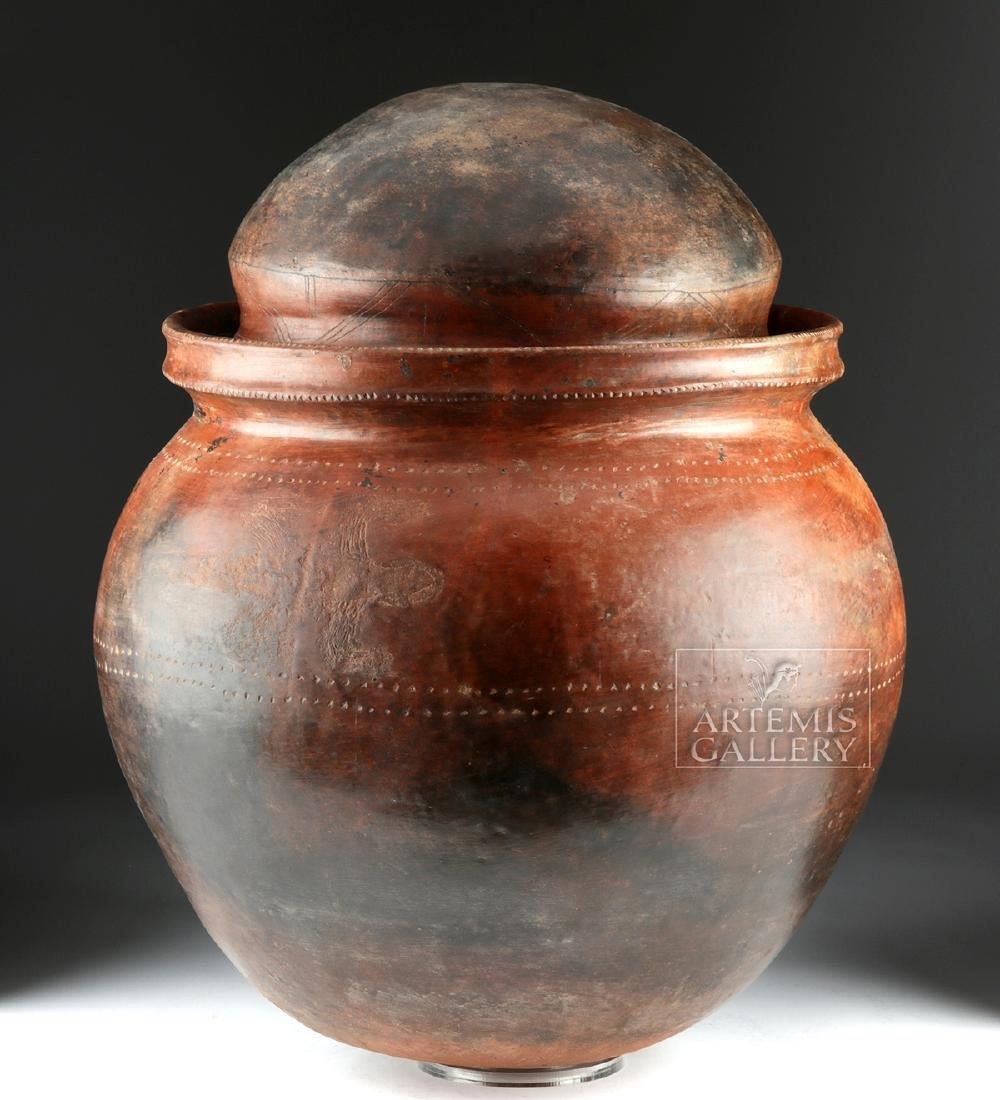 Massive San Agustin Phallic Urn w/ TL, ex-Museum