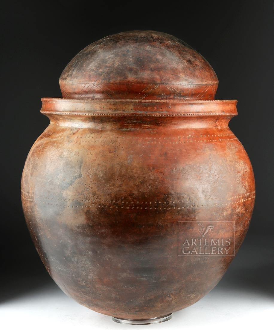 Massive San Agustin Phallic Urn w/ TL, ex-Museum - 3
