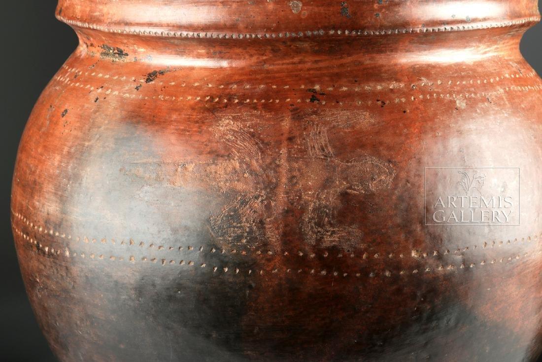 Massive San Agustin Phallic Urn w/ TL, ex-Museum - 4