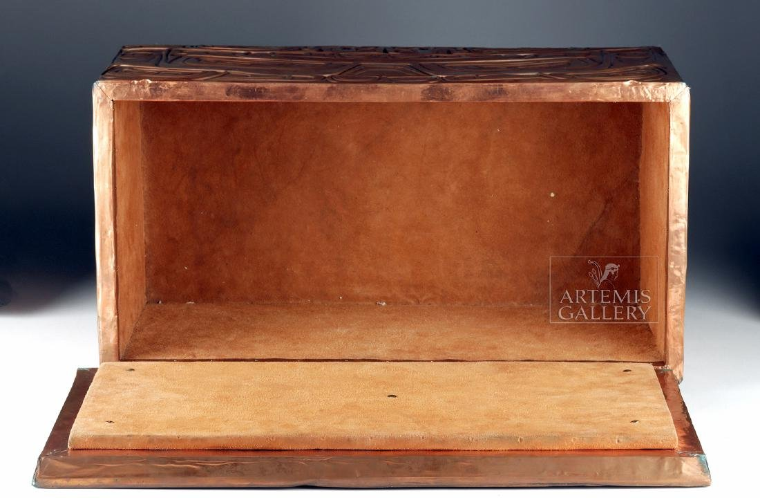 Pacific Northwest Copper Bentwood Box by Richard Dicks - 5
