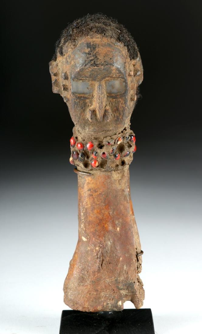 Early 20th C. Nigerian Tiv Bone & Wood Fetish - 2