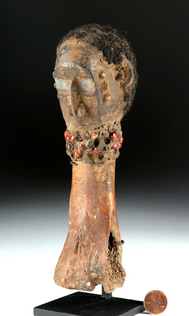 Early 20th C. Nigerian Tiv Bone & Wood Fetish - 3