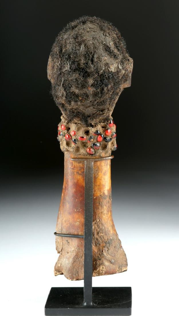 Early 20th C. Nigerian Tiv Bone & Wood Fetish - 4