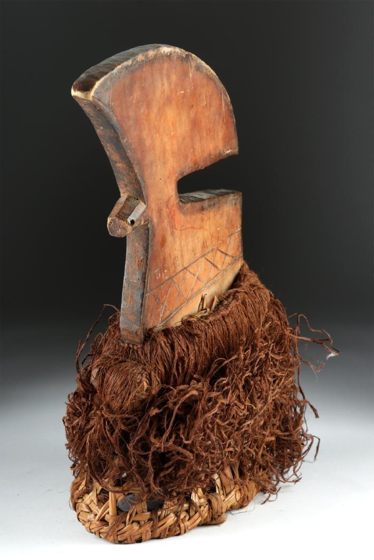 20th C. Democratic Republic of Congo Wood Budja Crest - 5