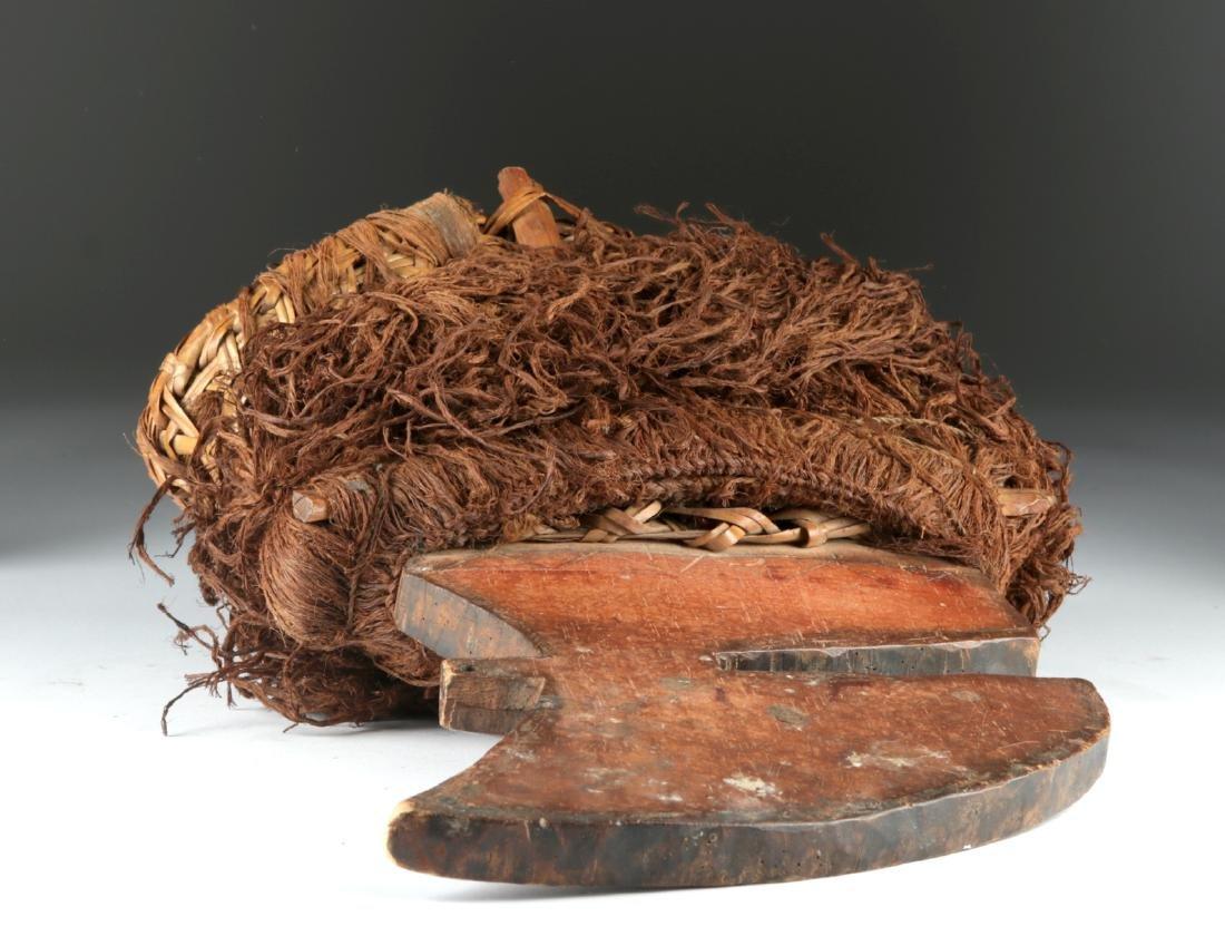 20th C. Democratic Republic of Congo Wood Budja Crest - 8
