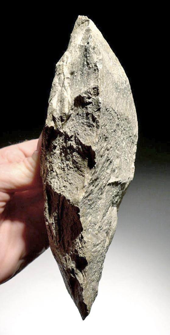 Heavy East African Acheulean Rhyolite Hand Axe - 6