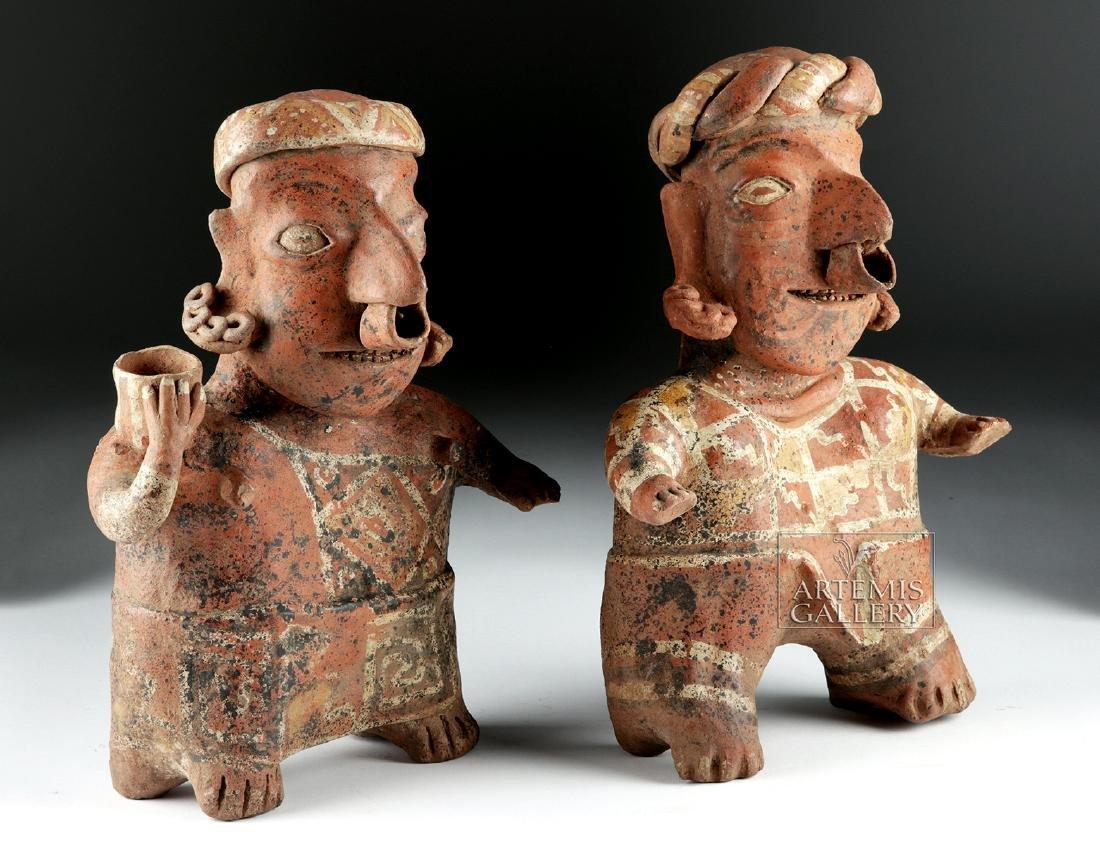 Nayarit Matching Ceramic Figures, ex-Hollywood
