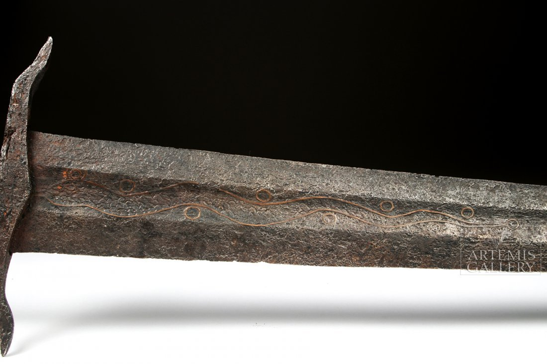 Royal Family Medieval Iron Sword, Oakeshott Type XIV - 3