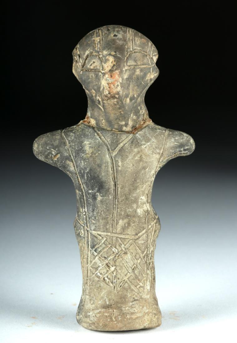 Vinca Pottery Standing Goddess - Rare!