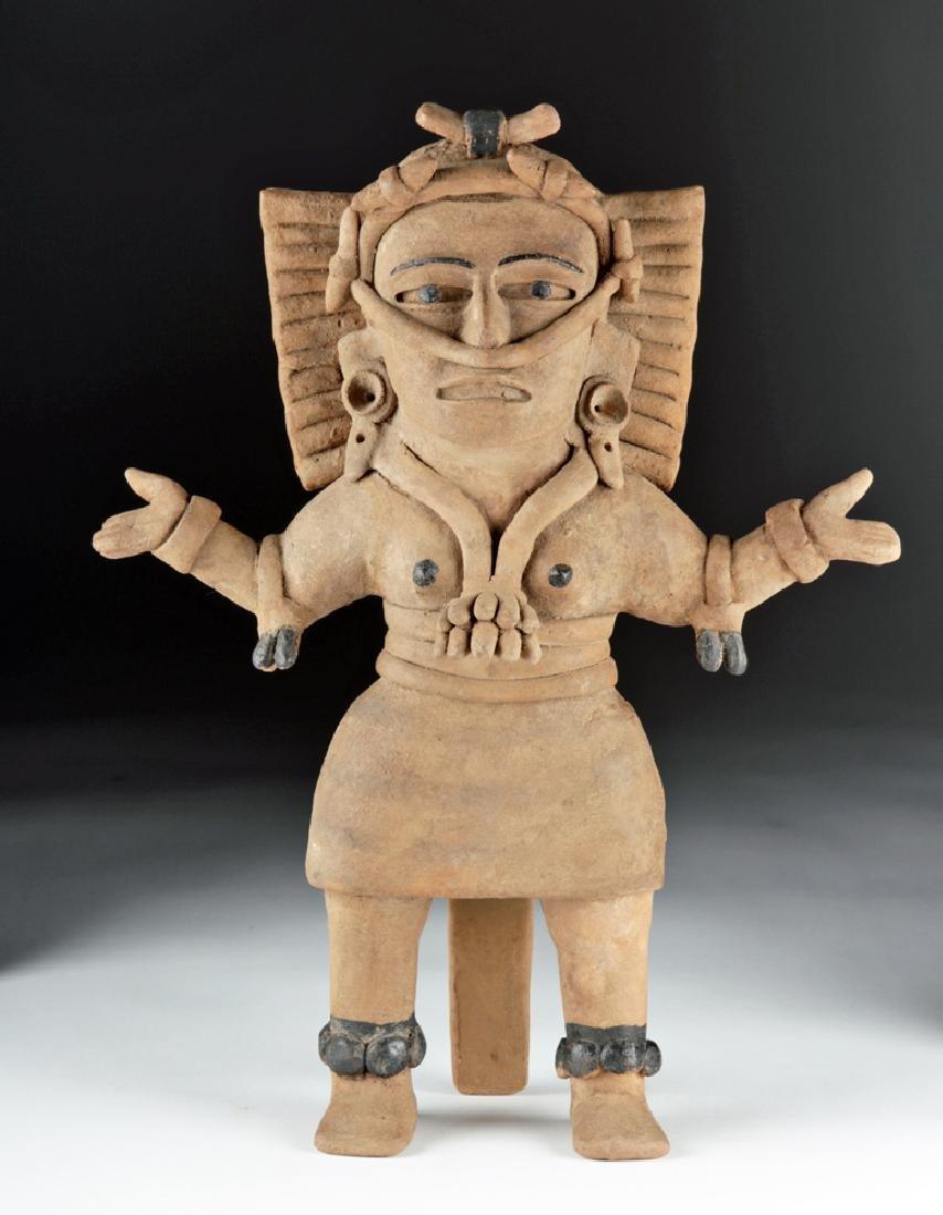 Veracruz Ceramic Standing Female Shaman