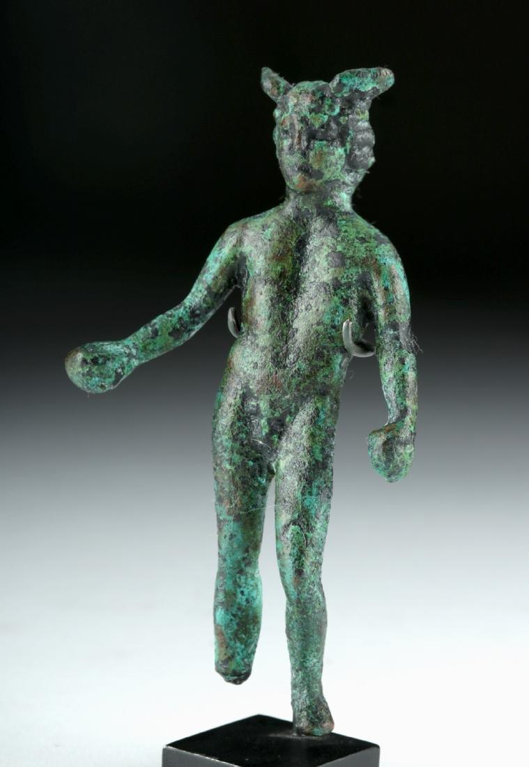 Roman Bronze Statue of the God Mercury - 2