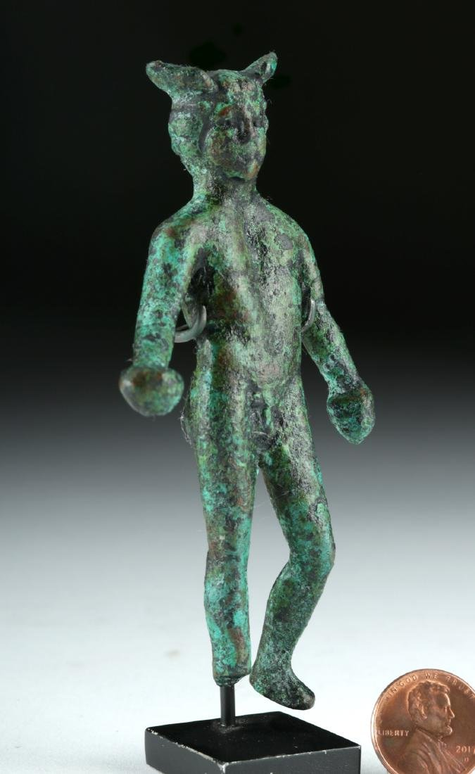 Roman Bronze Statue of the God Mercury - 3