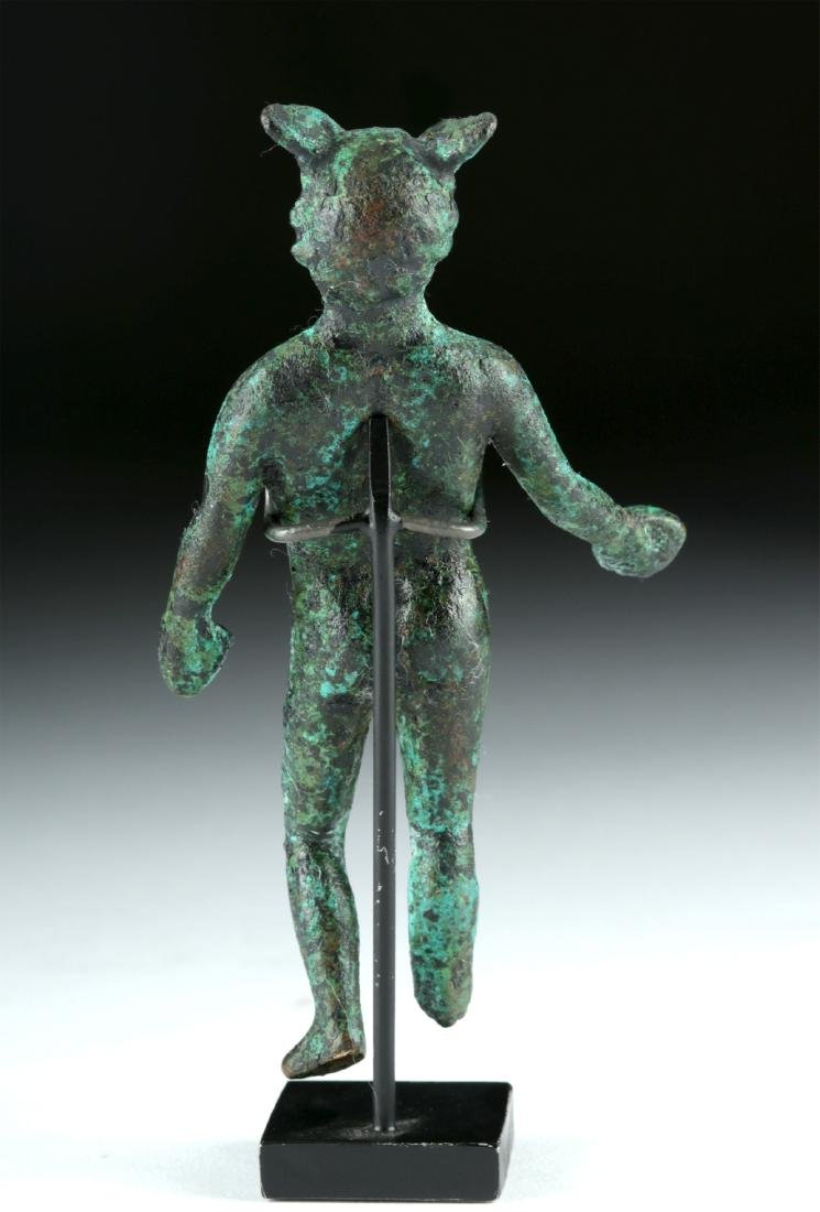 Roman Bronze Statue of the God Mercury - 4