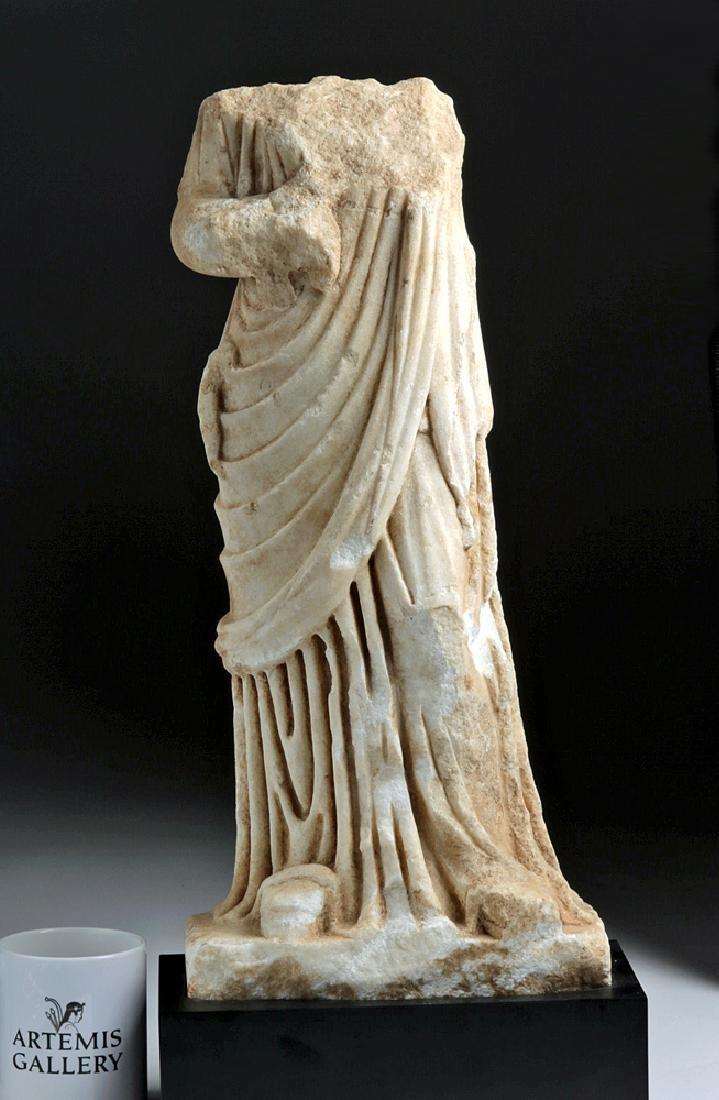 Fine Roman Marble Figure of a Goddess