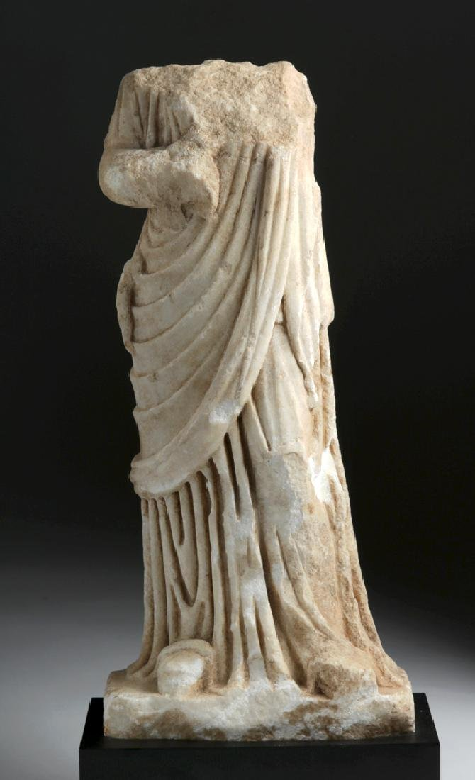 Fine Roman Marble Figure of a Goddess - 2
