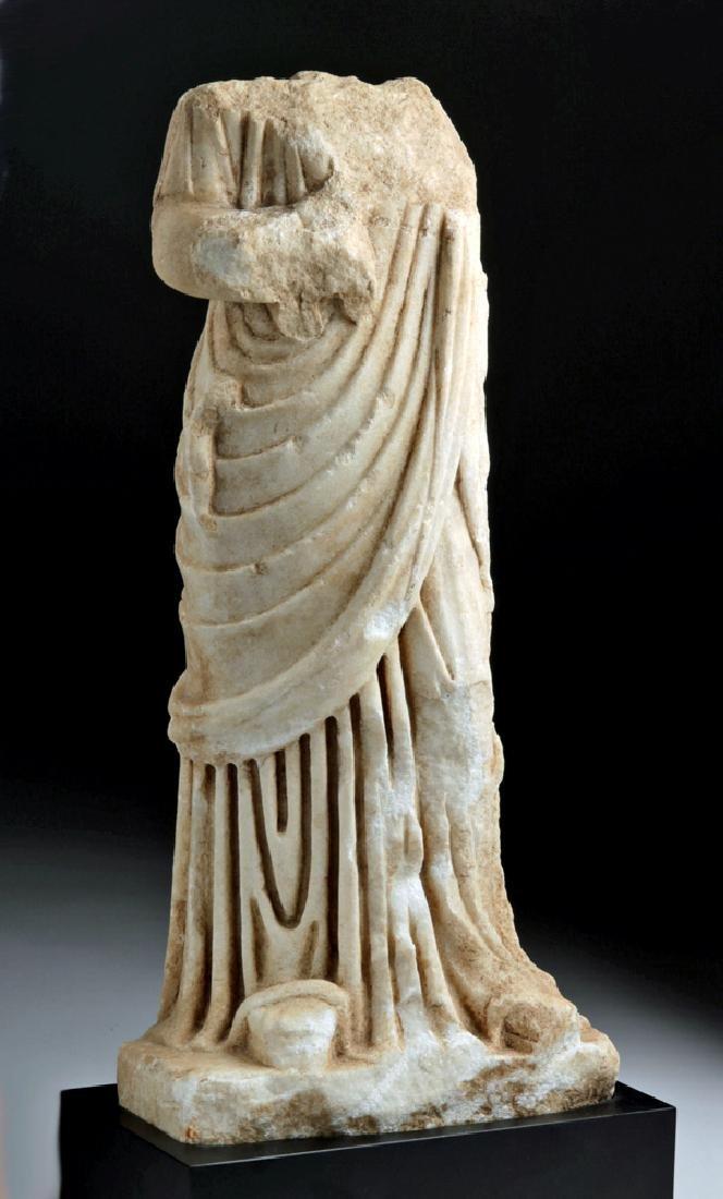 Fine Roman Marble Figure of a Goddess - 3