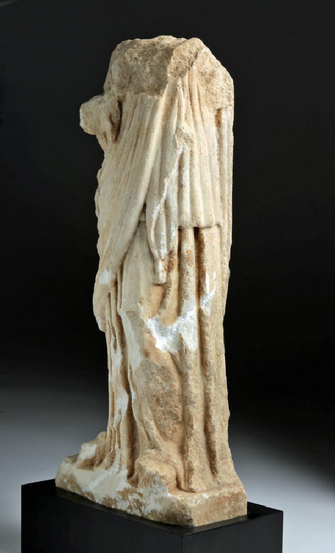 Fine Roman Marble Figure of a Goddess - 4