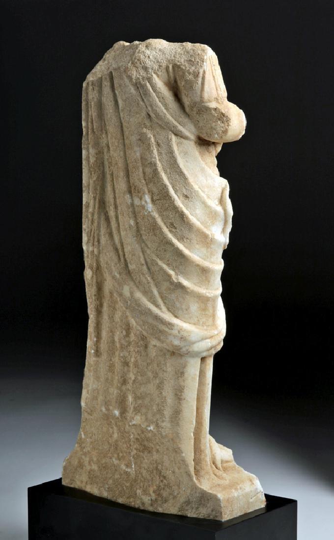 Fine Roman Marble Figure of a Goddess - 5