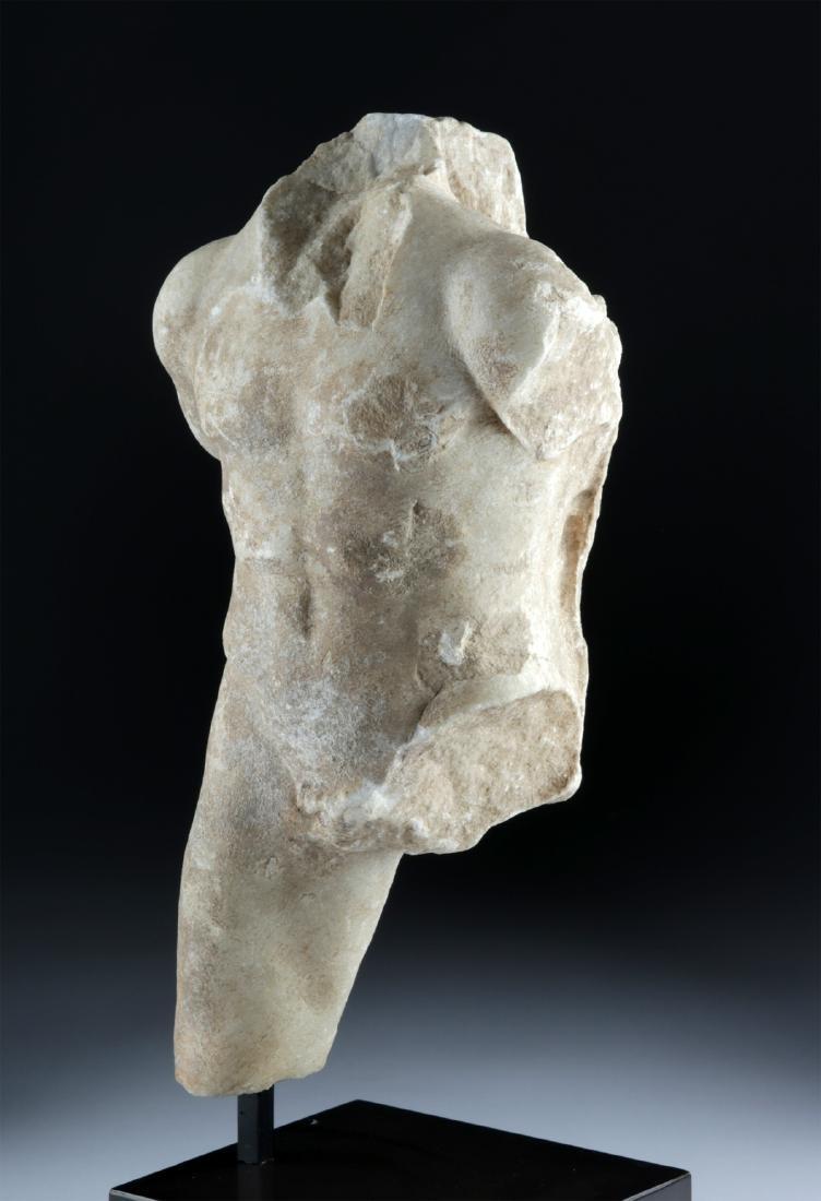 Roman Marble Torso of Man, ex-Christie's - 2