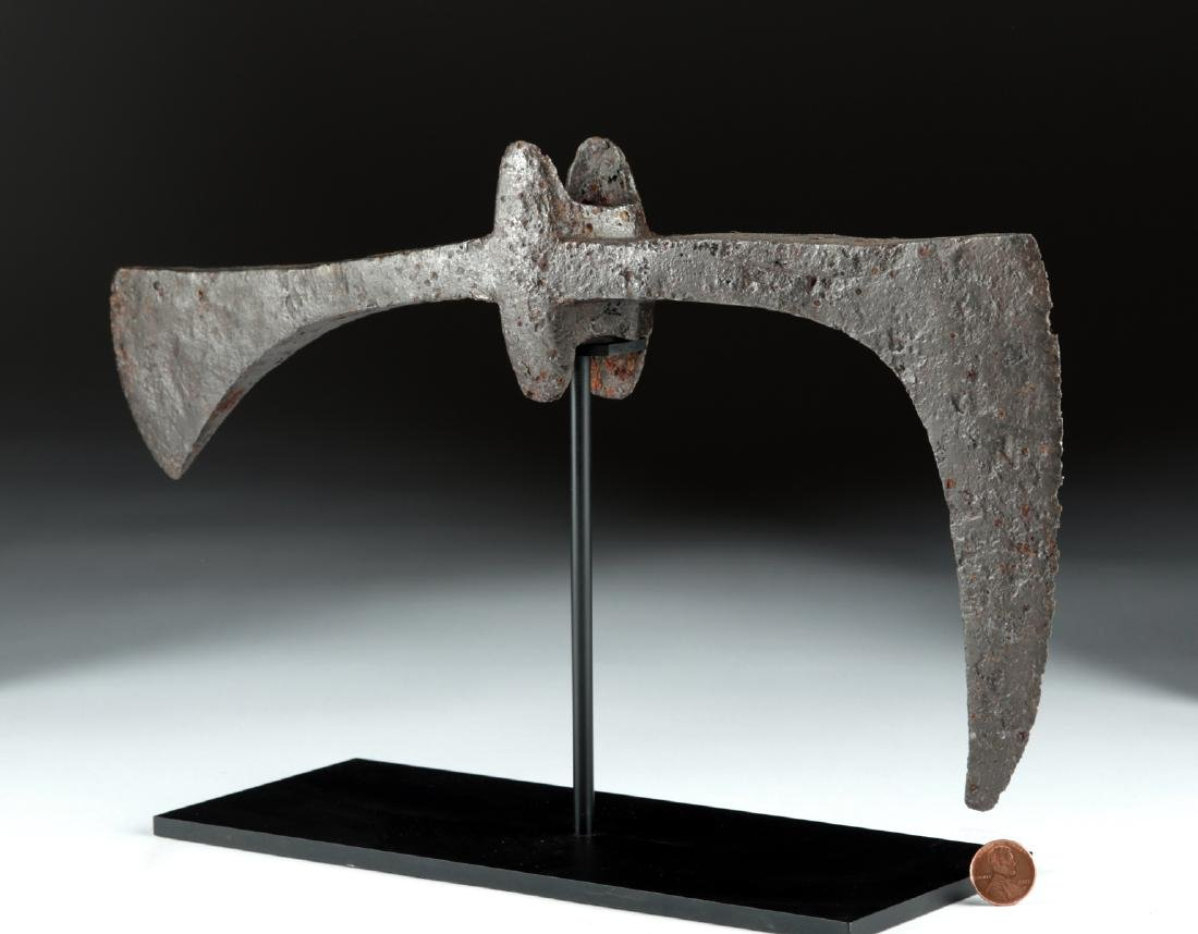 Huge 7th C. Viking / Anglo-Saxon Iron Broad-Axe Head