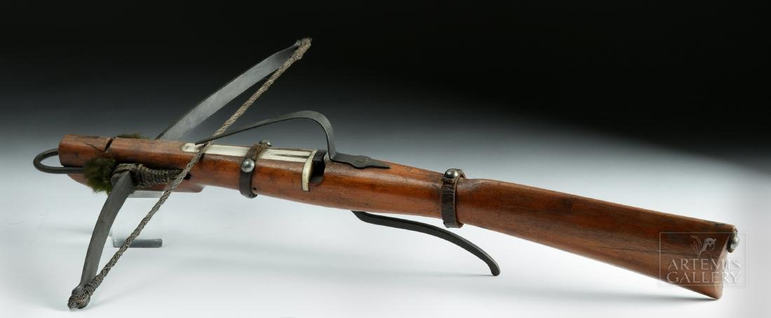 Rare 18th C. English Boy's Crossbow