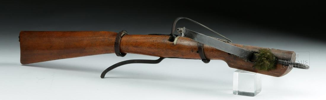 Rare 18th C. English Boy's Crossbow - 3