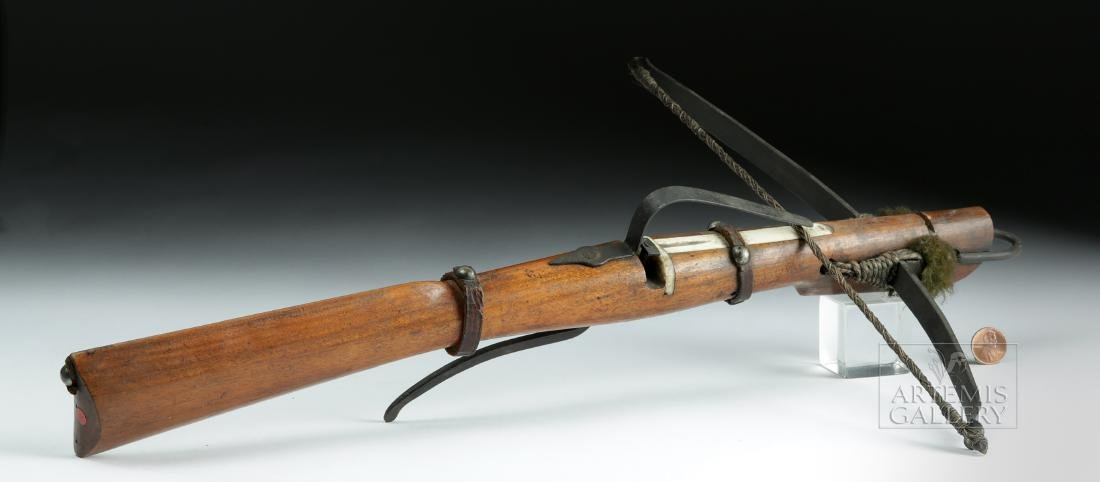 Rare 18th C. English Boy's Crossbow - 4