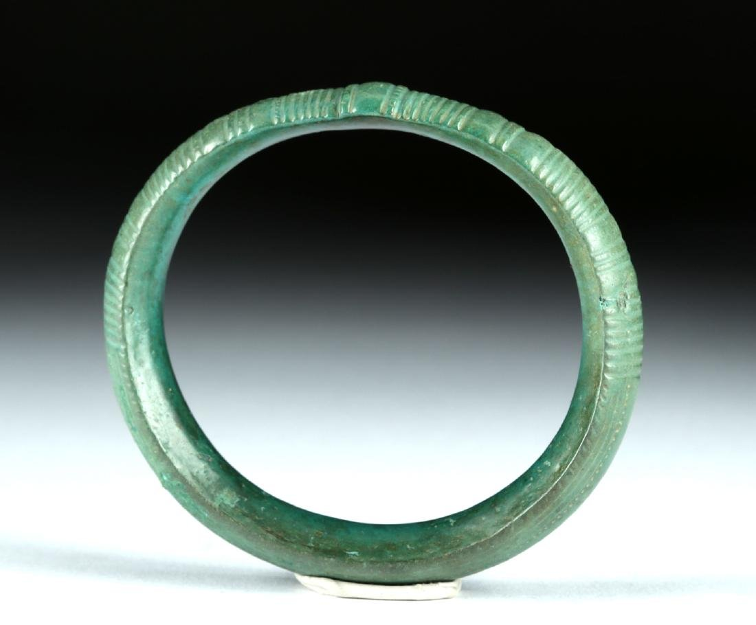 Hallstatt Bronze Bracelet / Armband - Stunning Patina - 3