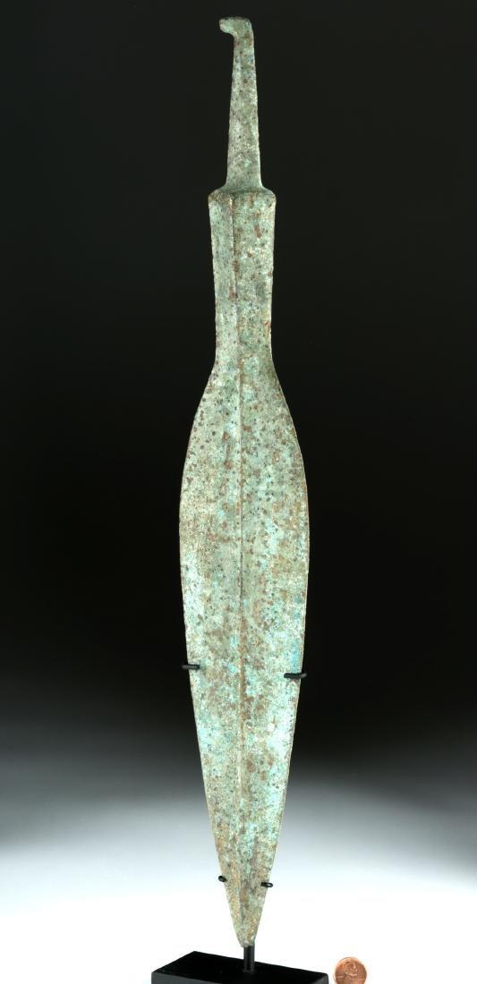 Massive Luristan Bronze Spear Head