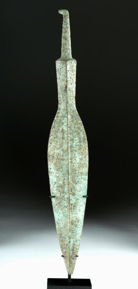 Massive Luristan Bronze Spear Head - 2