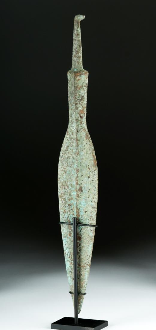 Massive Luristan Bronze Spear Head - 4
