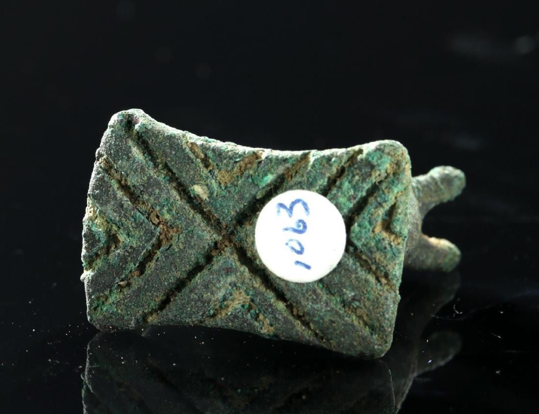 Luristan Bronze Amulet - Zebu Figure - 5