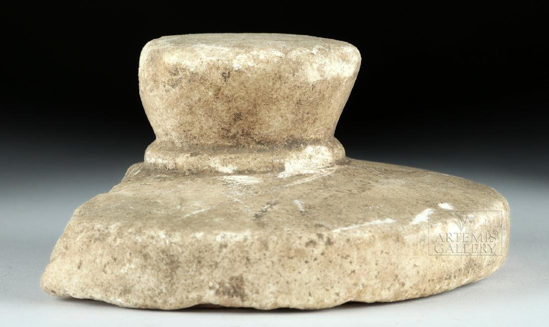 Rare Byzantine Marble Bread Stamp - 4