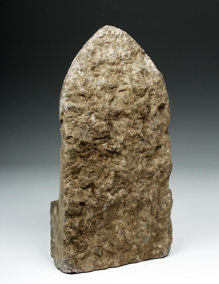 Chinese Ming Dynasty Stone Panel w/ Buddha - 3