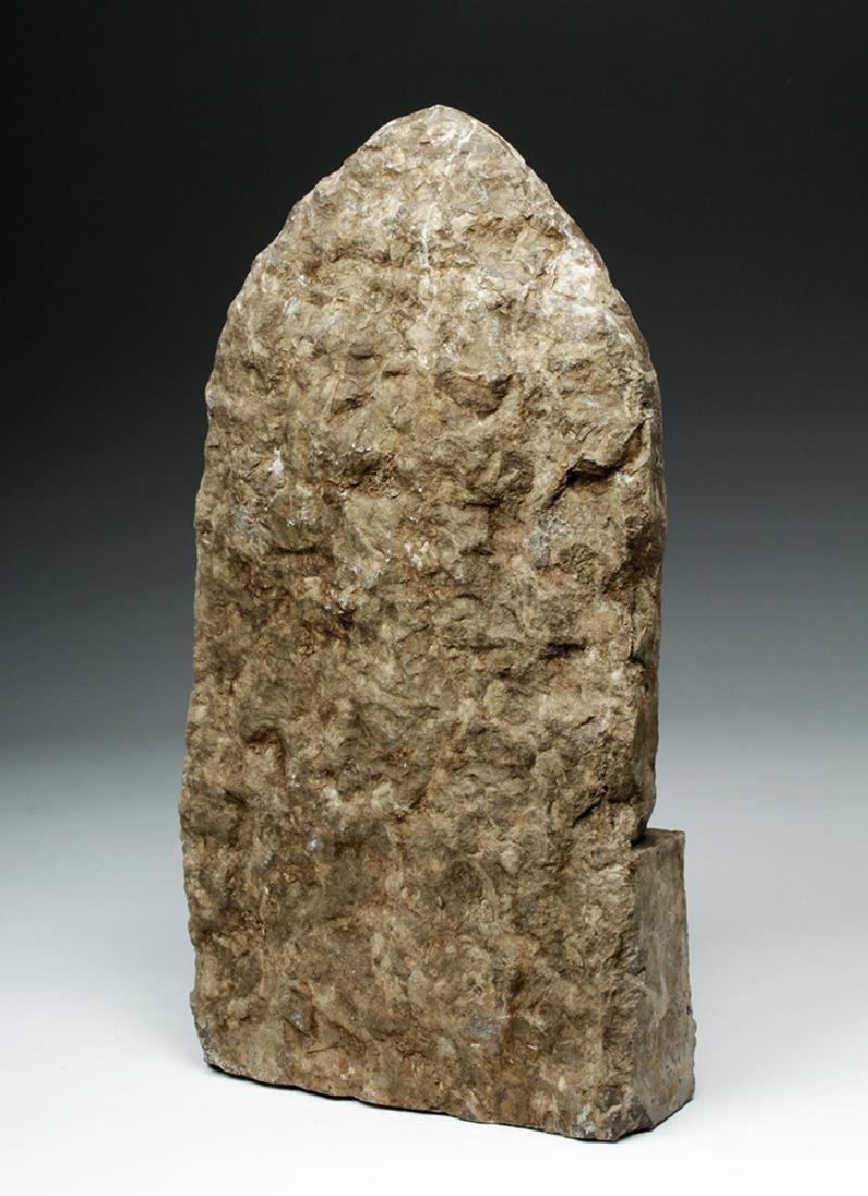 Chinese Ming Dynasty Stone Panel w/ Buddha - 4