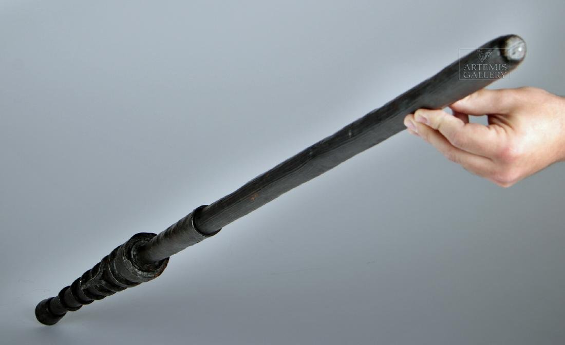 17th C. Chinese Iron / Wood Hand Cannon - 3