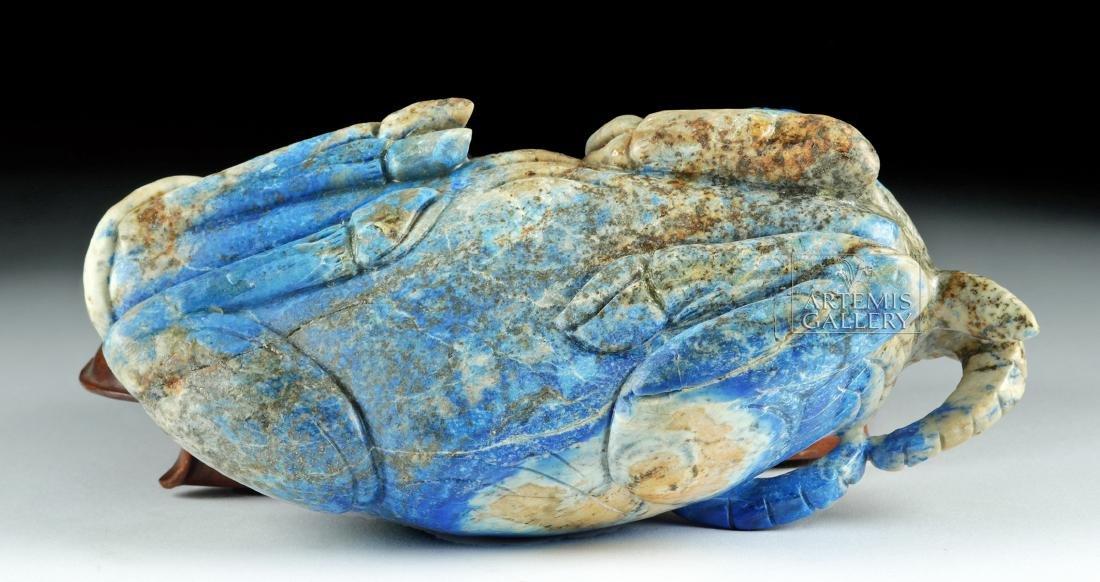 Chinese Qing Dynasty Lapis Lazuli Bull - 5