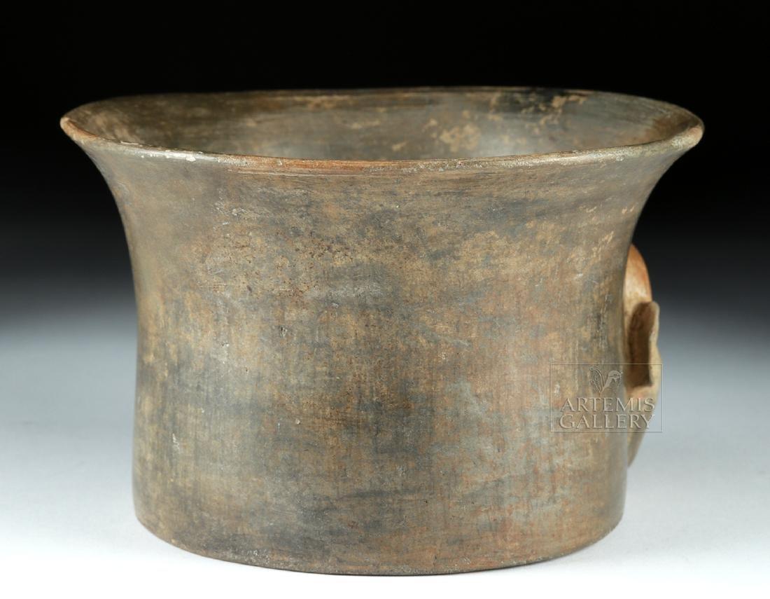 Rare Chavin Pottery Olla - Shaman Face - 4
