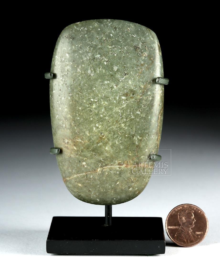 Fine Olmec Greenstone Celt, ex-Butterfield's - 6